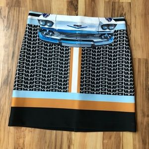 Unique clover canyon mini skirt!
